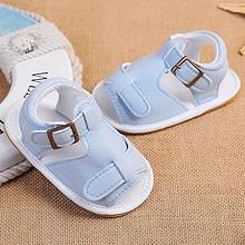 柔软舒适# 婴儿夏季软底学步凉鞋 19.9元包邮(24.9-5券)