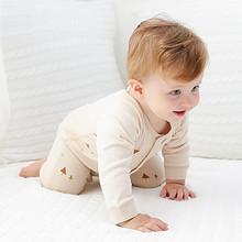 优质彩棉# 婴儿夏季连体哈衣纯棉爬服 24.9元包邮(39.9-15券)