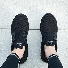 轻便休闲# 特步 夏季新款透气网面运动鞋 129元包邮(169-40券)