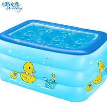 保温舒适# 美拉奇 家用儿童充气游泳池 29元包邮(49-20券)