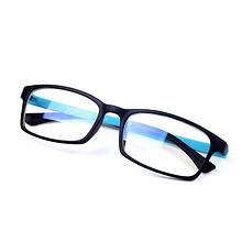 阻隔蓝光# 无度数防疲劳护眼防蓝光平面眼镜 15.9元包邮(18.9-3券)
