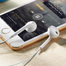 佩戴舒适# 苹果安卓通用运动重低音入耳式耳机 9.8元包邮(19.8-10券)
