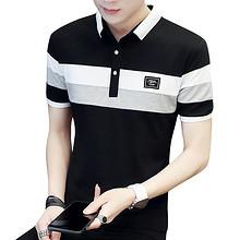 清爽舒适# 俞兆林 夏季男士短袖翻领POLO衫T恤 34.9元包邮(39.9-5券)