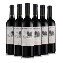 狂欢好价# 京东 宜兰树 约翰威廉干红葡萄酒750ml*6瓶*3件  折52.6元/件