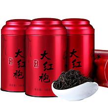 口感醇滑# 润虎 武夷山乌龙茶礼盒大红袍礼盒4罐400g 39元包邮(49-10券)