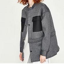 反季好价# 天猫 UR 女士撞色修身外套 329元包邮!