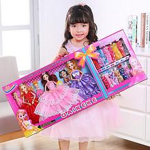智能玩具# 芭比娃娃公主套装大礼盒 36.8元包邮(46.8元-10券)