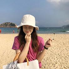 新款夏季韩范纯棉纯色宽松短袖t恤 29.9元包邮(39.9-10券)
