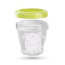 便携防漏# DROP-INS 便携防漏婴儿辅食盒 8.9元包邮(38.9-30券)