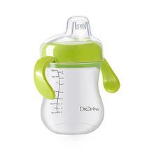 防呛防漏# DROP-INS旗舰店 婴儿带手柄学饮杯  19.9元包邮(59.9-40券)