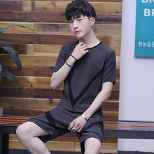 买T恤送短裤# 潮流个性韩版短袖t恤 39元包邮(189-150券)