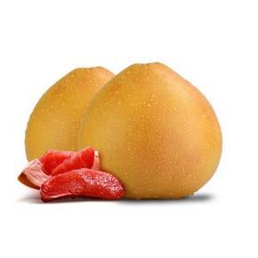 多汁味甜# 京山馆三红蜜柚 新鲜红心柚子5斤 19.9元包邮(39.9-20券)