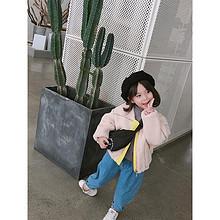 超级百搭#大耳象女童chao柔软圆领纯色打底衫 17元包邮(32-15券)