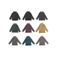 【金冠】纯棉弹力条纹打底长袖T恤 14.61元包邮(29.61-15券)