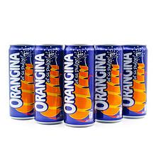 法国ORANGINA汲那香橙汁苏打330ml*3听 12.9元包邮(22.9-10券)