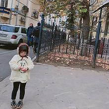 大耳象童装 小高领加绒加厚条纹T恤 24.9元包邮(44.9-20券)
