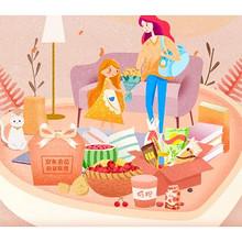 优惠券# 京东 感恩勋章联盟    吃货/生鲜/母婴/图书勋章券
