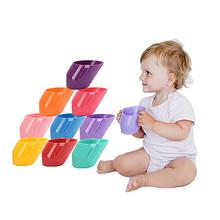 婴幼儿童学饮斜口训练敞口杯 7.8元包邮(17.8-10券)
