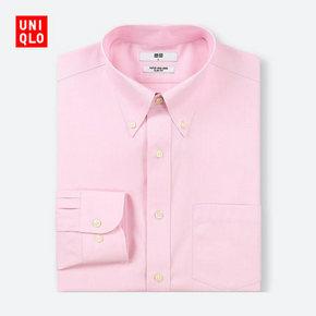 历史低价#  UNIQLO 优衣库  高性能修身防皱衬衫  现价59元,初上市价格199元