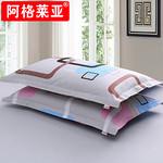 一对装 纯棉情侣款斜纹枕套48x74 券后¥20.8