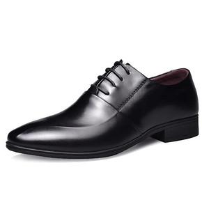 专柜同款 用¥130券后¥128 Romon 罗蒙 头层牛皮正装皮鞋