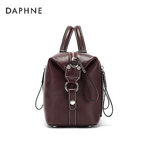 Daphne/达芙妮秋新款时尚车缝线机车多用单肩包手提包女 159元