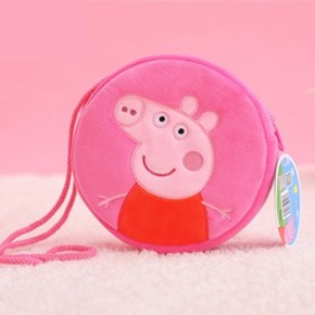 Peppa Pig 小猪佩奇 佩奇挎包 8元包邮
