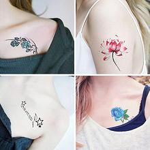 【超值65张】性感仿真纹身贴纸 9.9元包邮(12.9-3券)