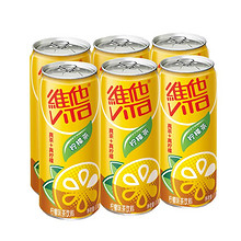 维他 柠檬茶310mL*6罐 *7件 108.72元包邮(双重优惠) ¥109