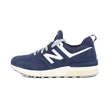 限37/38码、88VIP:new balance MS574BB BG 女子休闲鞋  券后246.52元包邮
