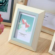 相框摆台可爱韩式清新像框5寸6寸7寸8寸10寸12寸a4创意挂墙欧式 6.2元