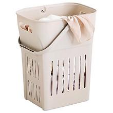 脏衣篮装脏衣服的收纳筐洗衣篓衣物篮子娄桶家用放玩具蓝框赃塑料 18.9元