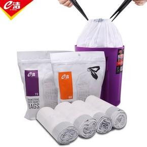 24日10点:e洁 自动收口垃圾袋 45*50cm 72只 7.4元包邮(需用券,限前10000件)