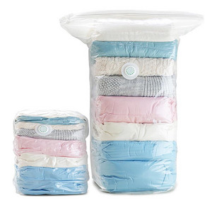 太力真空压缩袋免抽气旅行收纳袋立体式真空袋棉被子衣物整理袋8件套搬家