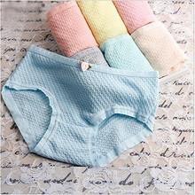 7条装 玫瑰花朵可爱舒适学生三角裤 25元包邮(29.96-5券)
