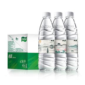 怡宝西湖十景定制瓶 饮用水 纯净水555ml*24瓶 箱装 26.9元