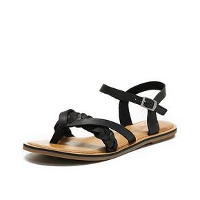 TOMS女鞋LEXIE皮质夹趾女鞋夏季平底休闲鞋女夹脚凉鞋 *2件 359.16元(合179.58元