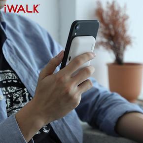 iWALK无线便携充电宝超薄粘贴式 69元包邮(99-30券)
