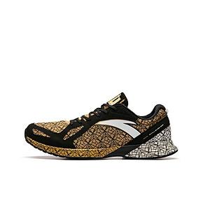 安踏 C202马拉松专业跑鞋 11825562 金白黑 到手价399