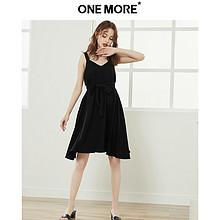 ONE MORE2019夏装新款背心连衣裙 179元