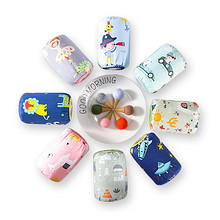 【3双装】秋冬季儿童纯棉卡通防水袖套 5.8元包邮(15.8-10券)