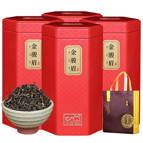 【顶级红茶】金骏眉红茶罐装凤鼎红礼盒装125g 6.9元包邮(66.9-60券)