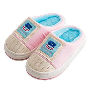 ¥9.9包邮 噜羊羊 儿童棉拖鞋