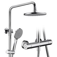 科固K04037两出水恒温花洒套装恒温淋浴器家用浴室明装花洒 399元