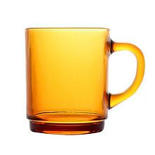 法国DURALEX进口钢化玻璃杯260ml琥珀色咖啡杯牛奶杯泡茶杯热饮 *2件 29元(合1