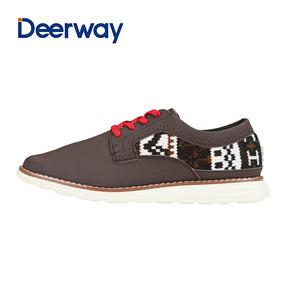 德尔惠正品男鞋韩版潮流滑板鞋耐磨透气运动鞋轻便休闲鞋板鞋子 59元