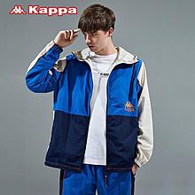 Kappa卡帕男款防风衣休闲外套 促销价659