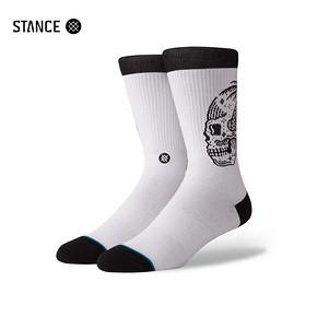 STANCE男袜恶魔系列街头潮流骷髅头像舒适休闲袜中筒袜子 546系列 99元