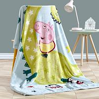 Dohia 多喜爱 小猪佩奇之出发吧恐龙 法兰绒毯 150*200cm 99元包邮 ¥99