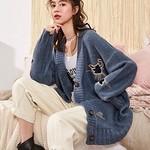 天猫 降温保暖:Tonlion 唐狮 女士毛衣外套 159元,可凑单免邮